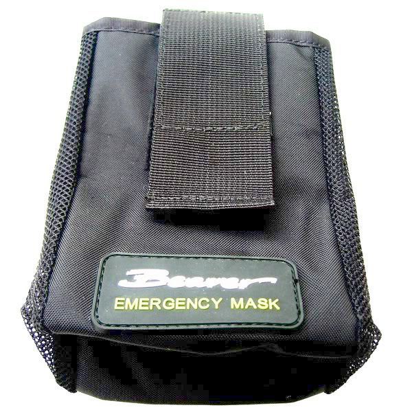 Divers Rapid Access Easy Attach Emergency Mask Pouch