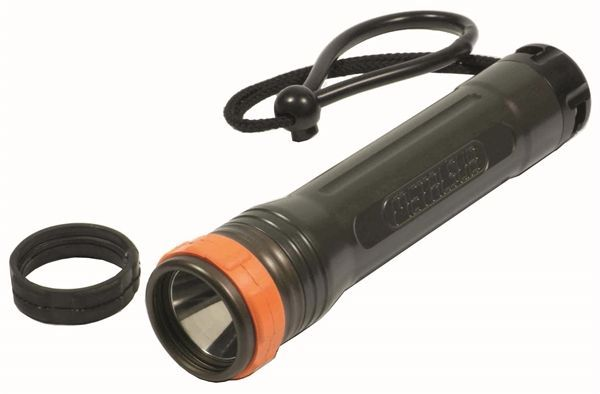 Metalsub - XRE400-R - Rechargeable Handheld LED Dive Torch - 400 Lumen