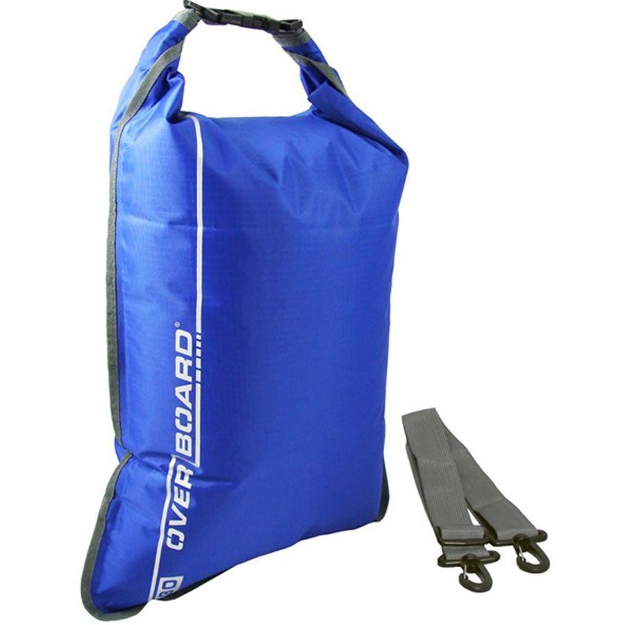 Overboard 30 Litre Dry BAG with Shoulder Strap - Deluxe Ripstop TU Material