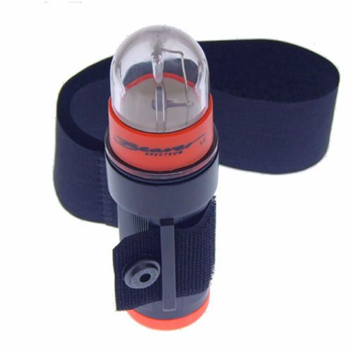 Spectrum Strobe from Beaver Sports with Arm Strap