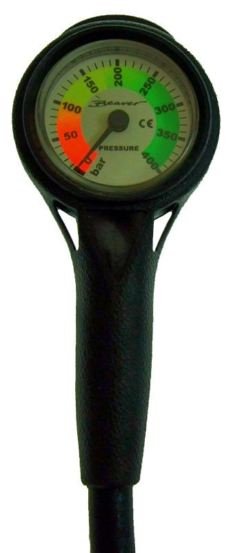 Beaver Sports - Compact Pressure Gauge with Hose and Console Unit - Observer