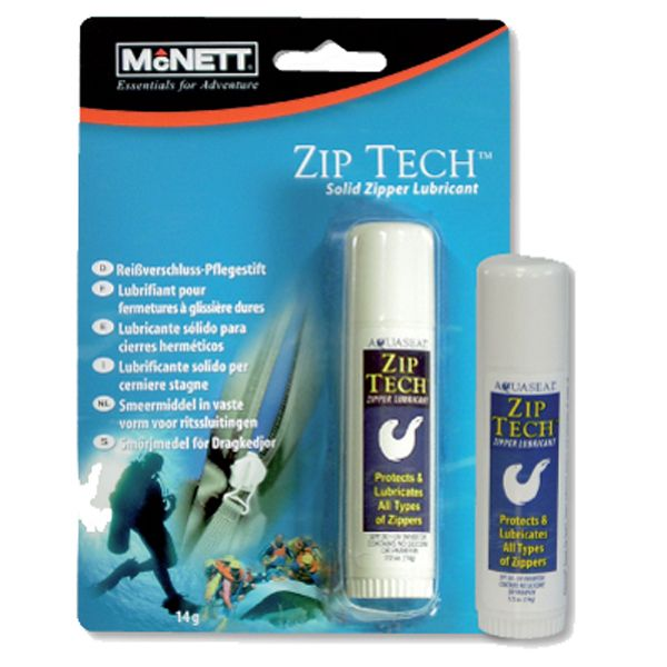 Zip Tech Lubricator for all Wet and Dry Suit ZIPs