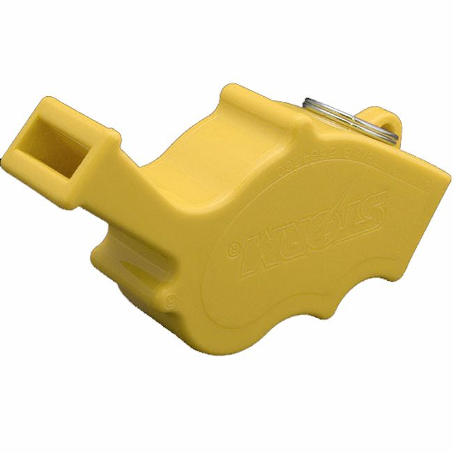 Storm Safety Whistle - Works Underwater / When Wet - Yellow